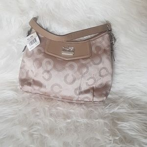 Brand new with Tag Beige Coach Purse small